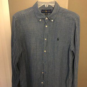 Boy's xl Ralph Lauren Button Down Long Sleeve
